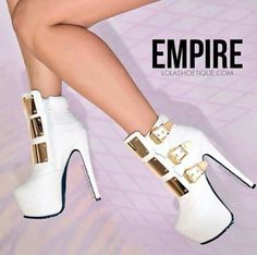Shoes ♡ I would swoon over her and dream about her every night afterwards...