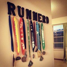 Runnerd Race Medal Hanger