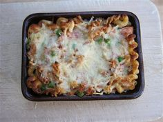 ­­: Tuna & Mozzarella Bake