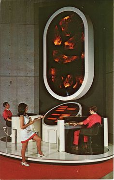 Alabama Space Rocket Center * Huntsville, AL (1960s) --- I think it would really help boost the space program's popularity if NASA were this funky again.