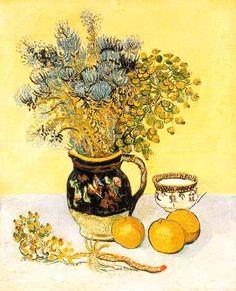Vincent Van Gogh - Post Impressionism - Arles - Nature morte - Still Life - 1888