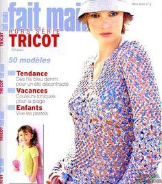 Fait Main HS Tricot - №4 - 2007 - Нерусские журналы - Журналы по рукоделию…