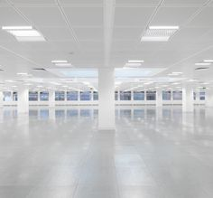 a refurbished office. ceilings by Armstrong World Industries.