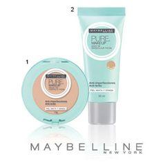 Lançamentos Maybelline para a pele! Conheça a coleção Pure Makeup.