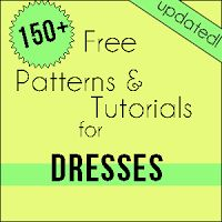 Free Girls Dress Patterns and Tutorials Masterlist (Updated May 2013)+ Links to lists for skirts, pants, tops & Boys Free Patterns!!