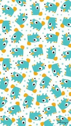 Phineas and Ferb Pattern iPhone Wallpaper Cartoon Wallpaper, Cute Disney Wallpaper, Wallpaper Iphone Disney, Kawaii Wallpaper, Screen Wallpaper, Cool Wallpaper, Pattern Wallpaper, Cute Backgrounds, Cute Wallpapers