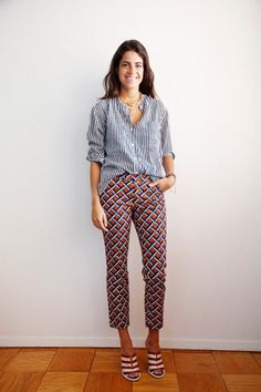 Leandra Medine- The Man Repeller Leandra Medine, Style Blog, Style Me, Style Feminin, Man Repeller, Looks Chic, Inspiration Mode, Mixing Prints, Mixing Patterns