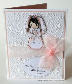 comunión First Communion Cards, Communion Favors, Precious Moments, Holidays And Events, Christening, Perfect Wedding, Projects To Try, Clip Art, Invitations