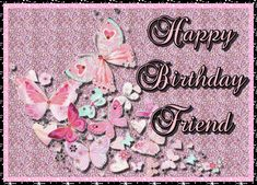 Sweet butterfly birthday wishes. Free online Butterfly Birthday Wishes For Friend ecards on Birthday Happy Birthday Penguin, Happy Birthday Wishes For A Friend, Cute Happy Birthday, Wishes For Friends, Birthday Wishes Funny, Birthday Songs, Boy Birthday, Birthday Sparklers, Birthday Fireworks