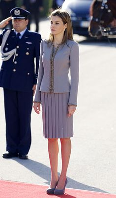 Queen Letizia, Queen Maxima and Princess Victoria: Gallery of the week's best royal style