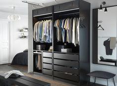 PAX kast | #IKEA #DagRommel #kledingkast #kast #inloopkast #garderobe