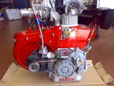Fiat 500 600 cc engine