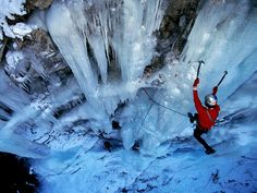 Extreme climbing #wintersport