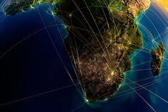 Technology Today: Internet Map - South  Africa