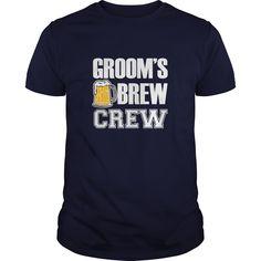 Grooms Brew Crew Groomsman funny shirt   #sport #crew #tshirt #tshirt #tee #2017 #sunfrog #coupon