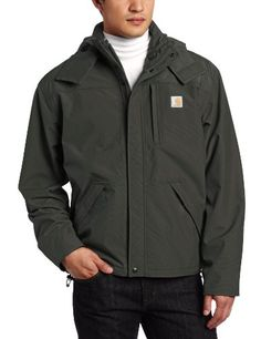 Carhartt Men's Big & Tall Shoreline Jacket Waterproof Breathable Nylon,Olive,XXX-Large Tall Carhartt ++ You can get best price to buy this with big discount just for you.++   2xl tall