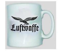 Tasse Luftwaffe-Adler / mehr Infos auf: www.Guntia-Militaria-Shop.de