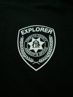 Forsyth County Explorer shirt.