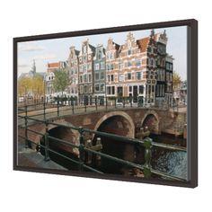 Brouwersgracht Prinsengracht Amsterdam  www.verbraekenart.com