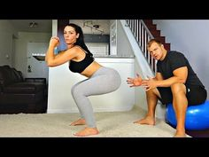 Improve Your Squats for the Perfect Butt -- 2 Tips - YouTube
