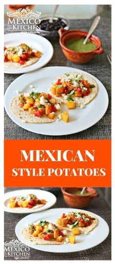 How To Make Mexican Style Potatoes I Hope That You Try This Recipe And Enjoy