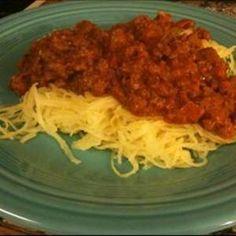 #Paleo Spaghetti Squash