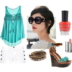 """Summer Time"" by nikidpike on Polyvore"
