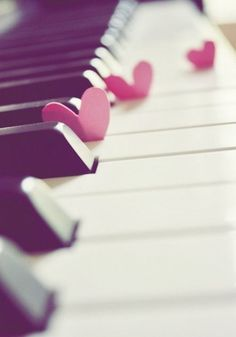 to learn how to play piano <3 <3 <3   Teaching myself how to play...... Good luck with that. :P