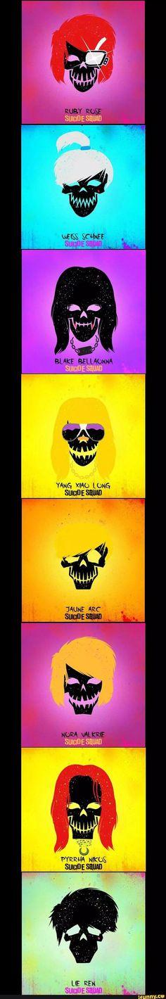 RWBY Suicide Squad