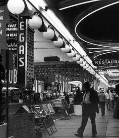 Downtown Vegas, 1969.