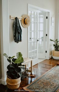 Lovely entryway with