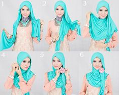 Hijab Headbands and Accessories Pictures Tutorials  2f62b8e132080d2b9f5323cc1d4d0b70