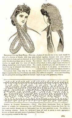 Civil War Fashions - Engravings from 1864 Ladies Friend Magazine - Hats