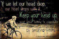 Words of Wisdom from Ironman legend Chrissie Wellington!