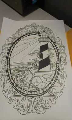Lighthouse Tattoo Design by SwagnerArt on deviantART