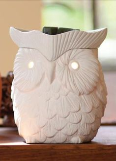 Owl Scentsy Warmer! Have to have :) @Stephanie Close Carroll