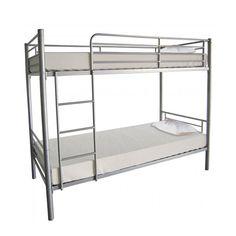 Furniture In Fashion Florida Metal Bunk Bed Bunk Beds With Storage, Metal Bunk Beds, Cool Bunk Beds, Bunk Beds With Stairs, Twin Bunk Beds, Space Saving Furniture, Online Furniture, Bedroom Furniture, Furniture Design