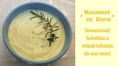 Maionese de kefir Kombucha, Kefir Recipes, Salsa, Good Food, Low Carb, Fruit, Ethnic Recipes, Carne, Youtube
