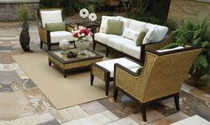 With the help of a professional decorator, you can have the outdoor retreat of your dreams! We work with your style AND budget! TheLandryTeam.DecoratingDen.com