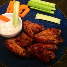 "Awesome Slow Cooker Buffalo Wings | ""I made these wings for Super Bowl®; they were gone in five minutes and super-easy to make! Serve with ranch or blue cheese dressing."""