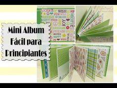 Tutorial Mini álbum fácil para principiantes