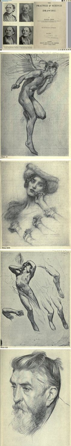 The Practice and Science of Drawing by Harold Speed (free eBook)