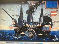 Blackship cartoon