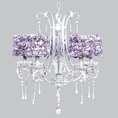White Colleen Chandelier Bright Idea