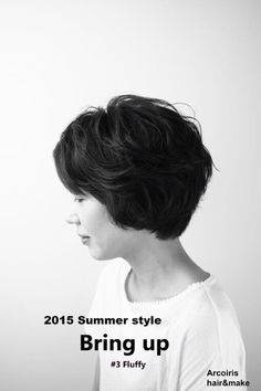 2015 Summer style Bring up  #3 Fluffy Arcoiris hair&make   http://www.arcoiris-hair.jp