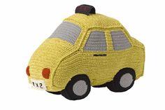 Crochet Yellow cab