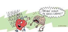 corazón -cerebro
