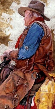 Tall In The Saddle ~ by JK Dooley
