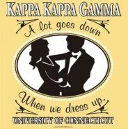 A lot goes down when the Kappa Kappa Gammas dress up!
