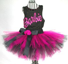 Classic Barbie Tutu Outfit by bellaforever on Etsy, $60.00